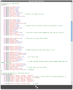Greasemonkey Script for Daily Mail o Matic