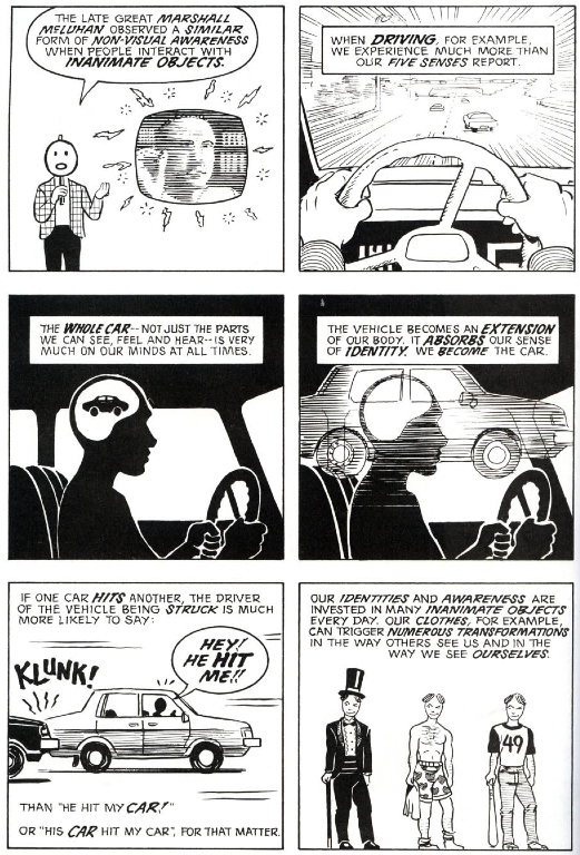 scott mccloud believes that highly abstract Reviews for sci-fi, graphic novels, feminist manifestos, and other fun reads  scott mccloud genre  i generally prefer more symbolic or abstract covers when it .